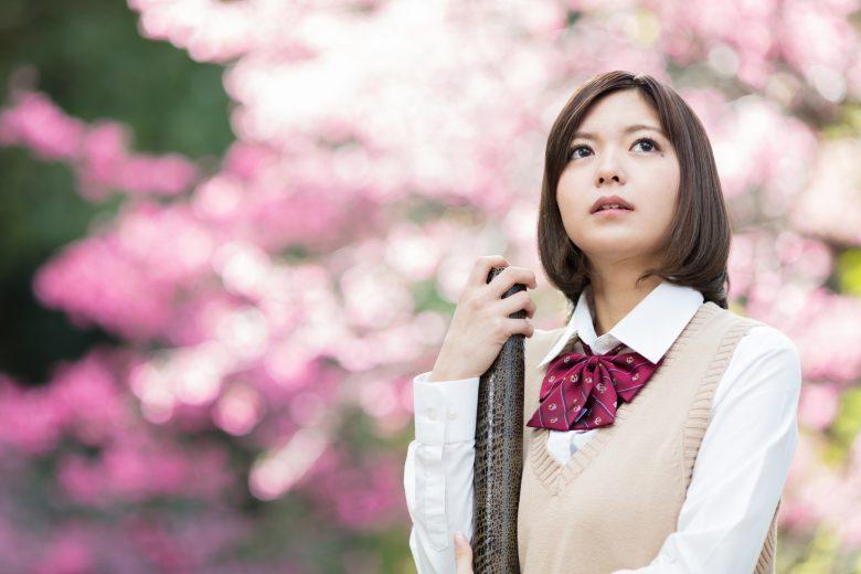 卒業 女子高生