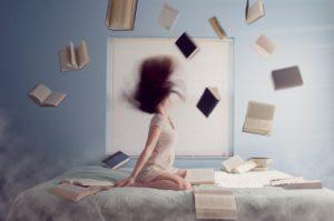読むことをあきらめた女性